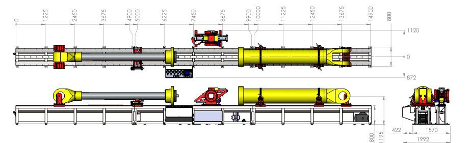 Micron Technologies Hydraulic Cylinder Repair Equipment